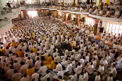 Satsang with Amma